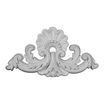 Restorers Architectural Shell 16 Inch Urethane Onlay Applique