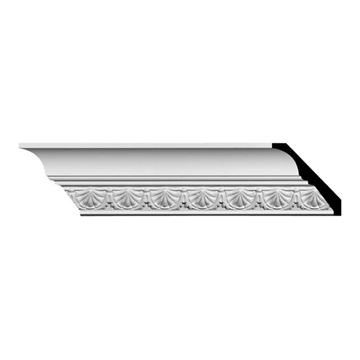 Restorers Architectural Shell Urethane Crown Molding