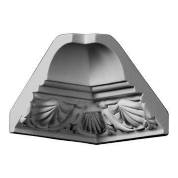 Restorers Architectural Shell Urethane Inside Molding Corner