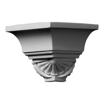 Restorers Architectural Shell Urethane Outside Molding Corner