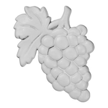 Restorers Architectural Small Grape Bunch Urethane Onlay Applique