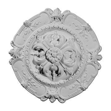 Restorers Architectural Southampton Rosette Urethane Ceiling Medallion