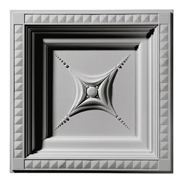 Restorers Architectural Star Urethane Ceiling Tile