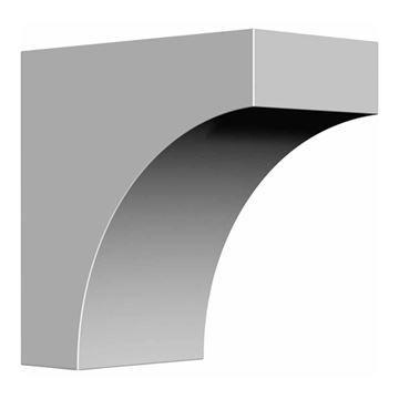 Restorers Architectural Stockport 5 1/2 Inch Urethane Bracket