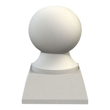 Restorers Architectural Traditional Base Urethane Finial