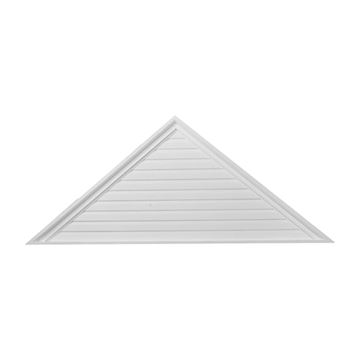 Restorers Architectural Triangle Urethane Decorative Gable Vent