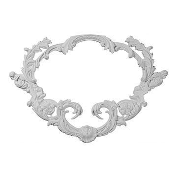 Restorers Architectural Turin Urethane Onlay Applique