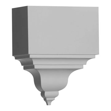 Restorers Architectural Universal Finial Urethane Molding Coupling