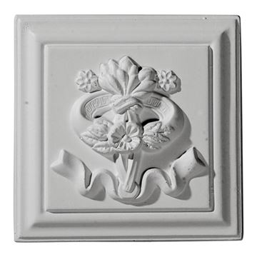 Restorers Architectural Versailles Urethane Rosette Applique