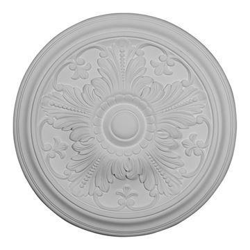 Restorers Architectural Vienna 17 Inch Urethane Ceiling Medallion