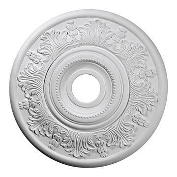 Restorers Architectural Vienna 20 Inch Urethane Ceiling Medallion