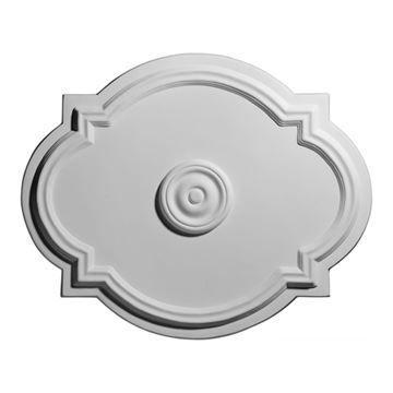 Restorers Architectural Waltz Urethane Ceiling Medallion