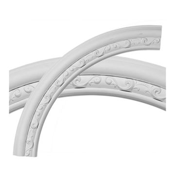 Restorers Architectural Watford Urethane Quarter Ceiling Ring Only