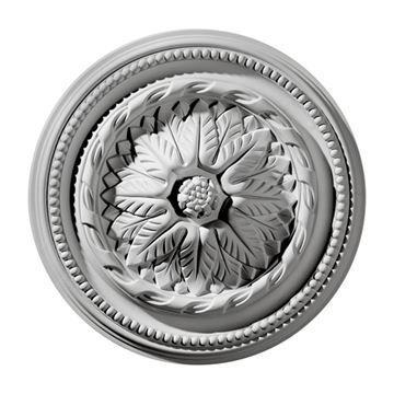 Restorers Architectural Wigan 16 Inch Urethane Ceiling Medallion