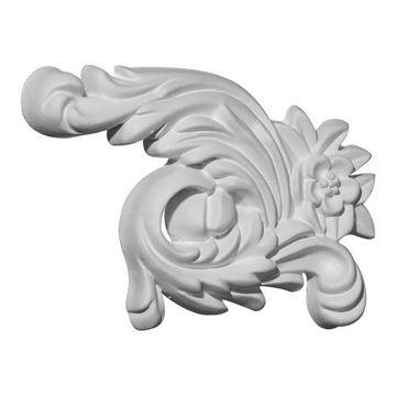 Restorers Architectural Zephyr Urethane Onlay Applique