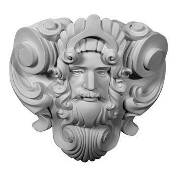 Restorers Architectural Zeus Urethane Onlay Applique