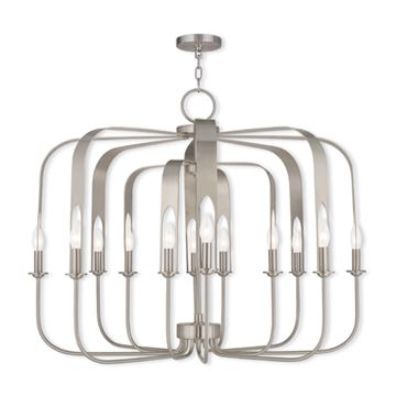Livex Lighting Addison 12 Light Chandelier