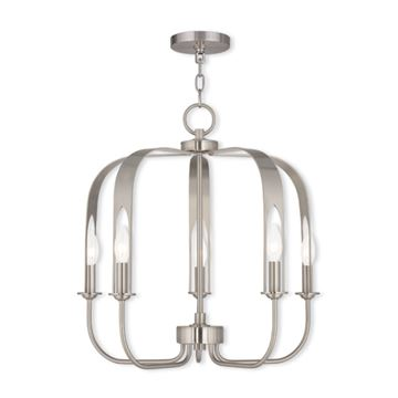 Livex Lighting Addison 5 Light Chandelier