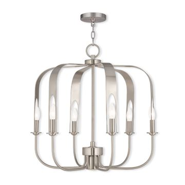 Livex Lighting Addison 7 Light Chandelier