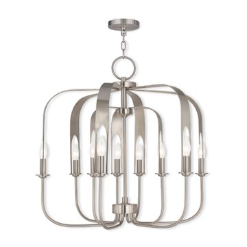 Livex Lighting Addison 9 Light Chandelier