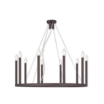 Livex Lighting Alpine 32 Inch Chandelier