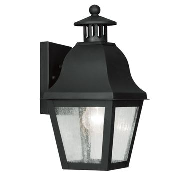Livex Lighting Amwell Outdoor 1 Light Wall Lantern