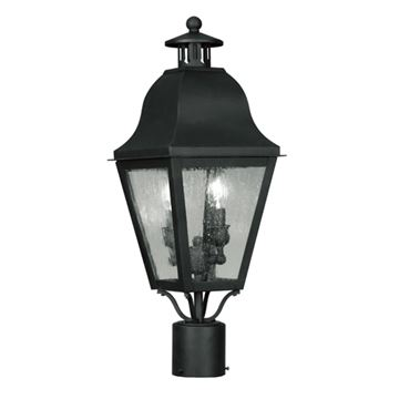 Livex Lighting Amwell Outdoor 2 Light Post Head Light