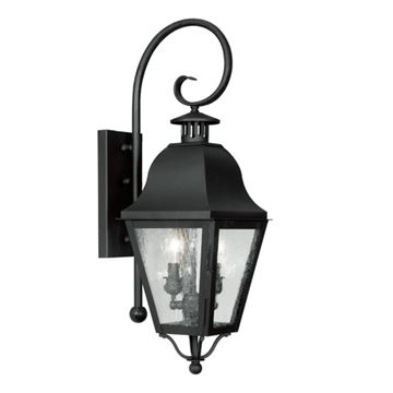 Livex Lighting Amwell Outdoor 2 Light Wall Lantern