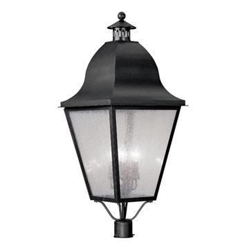 Livex Lighting Amwell Outdoor 38 Inch Post Head Light