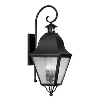 Livex Lighting Amwell Outdoor 4 Light Wall Lantern