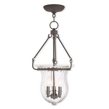 Livex Lighting Andover 12 Inch Pendant Light