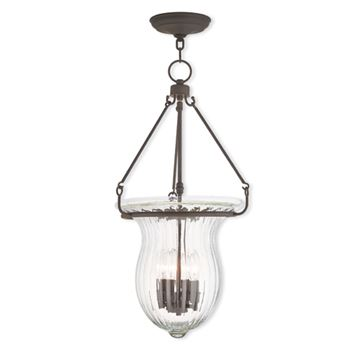 Livex Lighting Andover 14 Inch Pendant Light