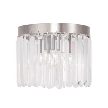 Livex Lighting Ashton 3 Light Flush Ceiling Light