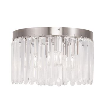 Livex Lighting Ashton 4 Light Flush Ceiling Light