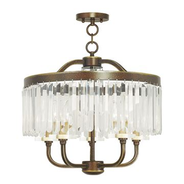 Livex Lighting Ashton 5 Light Chandelier