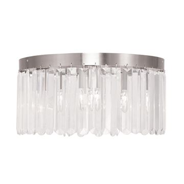 Livex Lighting Ashton 5 Light Flush Ceiling Light
