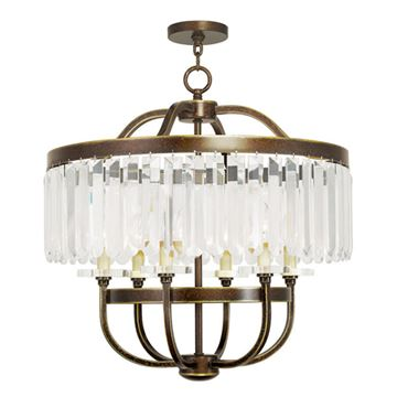 Livex Lighting Ashton 6 Light Chandelier