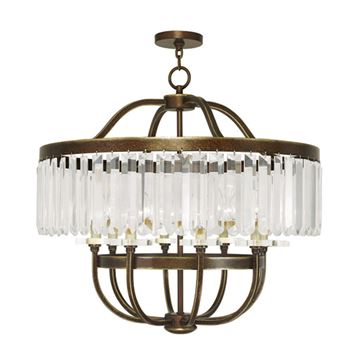 Livex Lighting Ashton 8 Light Chandelier