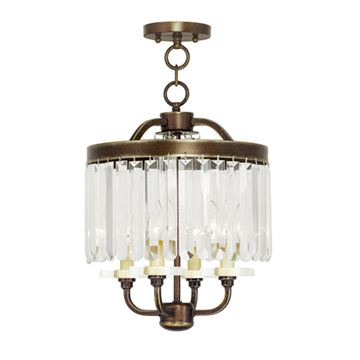 Livex Lighting Ashton Mini Chandelier