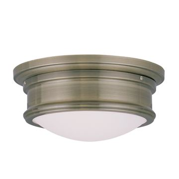 Livex Lighting Astor 11 Inch Flush Ceiling Light