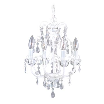 Livex Lighting Athena 4 Light Chandelier