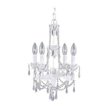 Livex Lighting Athena 4 Light Mini Chandelier