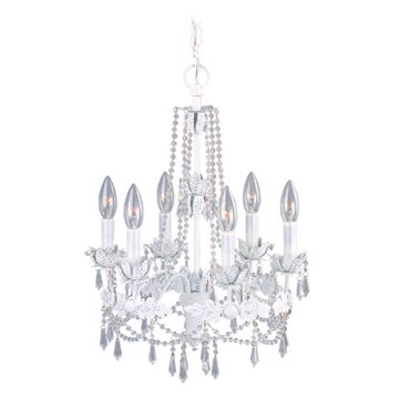 Livex Lighting Athena 6 Light Chandelier