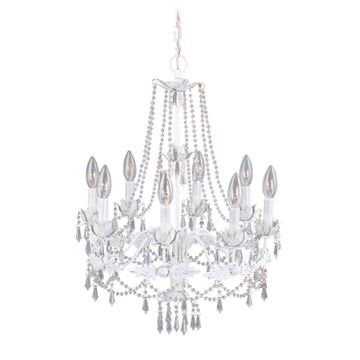 Livex Lighting Athena 8 Light Chandelier