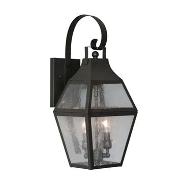 Livex Lighting Augusta Outdoor 2 Light Wall Lantern