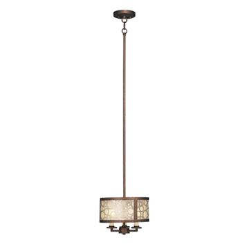 Livex Lighting Avalon 3 Light Mini Pendant Light