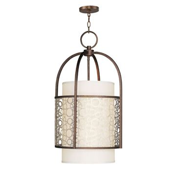 Livex Lighting Avalon 4 Light Hall Or Foyer Light