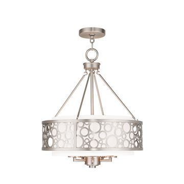 Livex Lighting Avalon 5 Light 18 Inch Chandelier