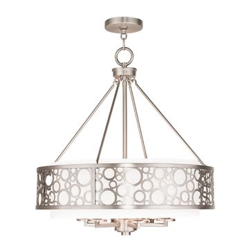 Livex Lighting Avalon 6 Light 22 Inch Chandelier