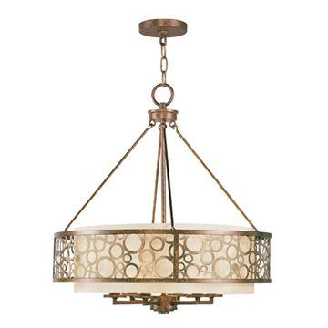 Livex Lighting Avalon 6 Light Chandelier